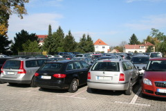 Parken mit easy park & fly am Flughafen Dresden